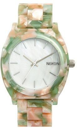 Women's Nixon 'The Time Teller' Watch, 37Mm $150 thestylecure.com