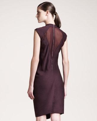 Helmut Lang Molten Draped Dress