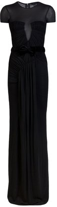 Burberry Rouched gown