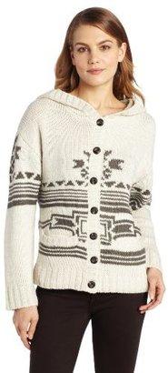 True Grit Dylan by Women's Folk-Blanket Sweater Jacket