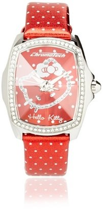 Hello Kitty CT.7896LS-41 Stainless Steel Red Watch $105.52 thestylecure.com