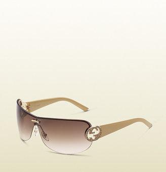 Gucci Elegant Mask Sunglasses