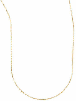 "Sarah Chloe Cable Chain Necklace, 36""L"