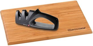 Wusthof Sharpener and Cutting Board Set