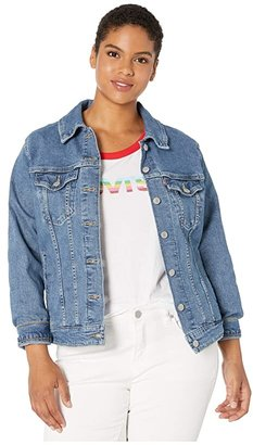 Levi's Plus Plus Trucker Jacket (Indio Blue) Women's Jacket