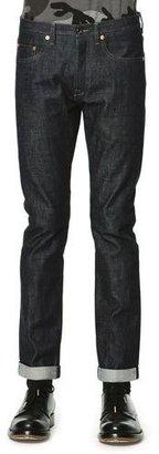 Valentino Dark Clean-Wash Denim Jeans $490 thestylecure.com