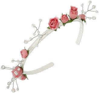 Pink Rose Aliceband