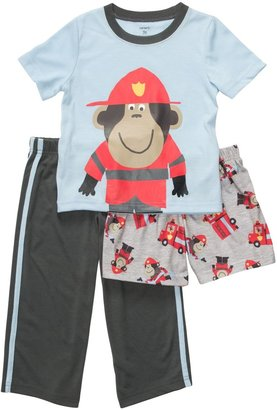 Carter's 3-Piece Poly - Monkey Fireman