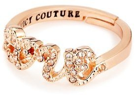 Juicy Couture Pave Love Ring