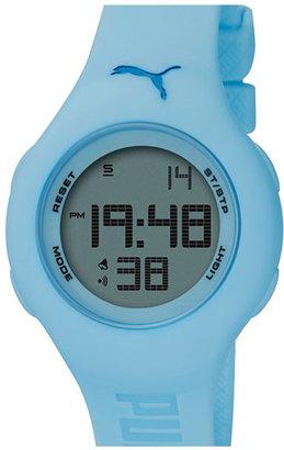 Puma 'Loop' Digital Chronograph Watch