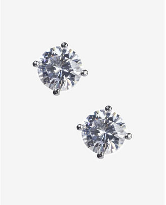 Express Cubic Zirconia Stud Earrings $24.90 thestylecure.com