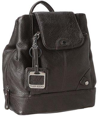 Tyler Rodan Tabs On Me Backpack (Black) - Bags and Luggage