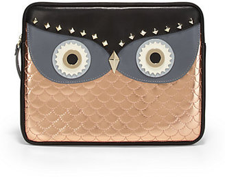 Kate Spade Wise Owl Mixed-Media Sleeve For iPad 1, 2 & 3
