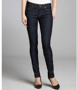 AG Adriano Goldschmied dark blue wash 'Jegging' super skinny jeans