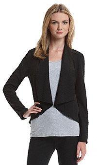 Amy Byer Pucker Flyaway Knit Jacket
