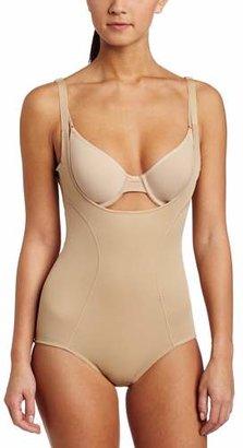 Flexees Women's Ultimate Slimmer Wear Your Own Bra Torsette Body Briefer #2656, Body Beige, XX-Large