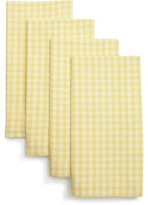 Sur La Table Gingham Napkins, Sets of 4