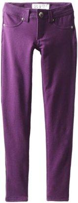 Southpole Girls 7-16 Basic Super Stretch Color Knit Pants