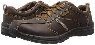 Skechers Relaxed Fit Superior - Levoy (Dark Brown) Men's Shoes