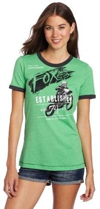 Fox Juniors Surpass Ringer Tee