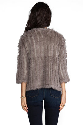 Heartloom Rosa Rabbit Fur Jacket