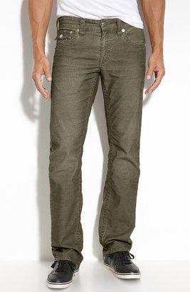 True Religion Brand Jeans 'Ricky' Straight Leg Corduroy Pants
