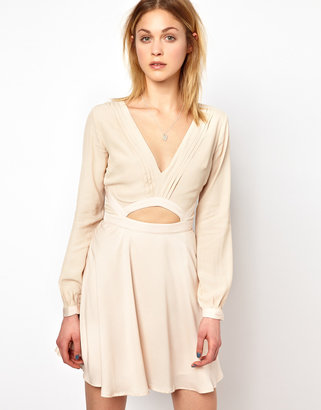 Finders Keepers The Lovers Dress with Long Sleeves