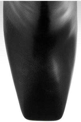 Maison Martin Margiela Cutout-heel leather boots