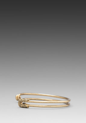 House Of Harlow Safety Pin Stack Bracelet