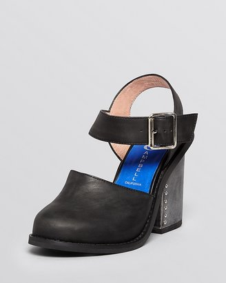 Jeffrey Campbell High Heel Booties - Bonshe Slingback