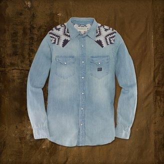 Denim & Supply Ralph Lauren Embroidered Cowboy Shirt