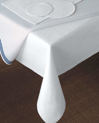 "Matouk 59"" x 80"" Oblong Dining Table Pad"