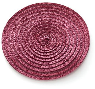Crate & Barrel Lolly Rose Coaster