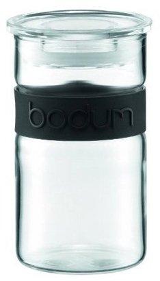 Bodum Presso 8oz Glass Storage Jar, Black