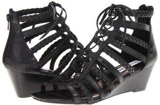 Steve Madden Noah (Black Leather) - Footwear