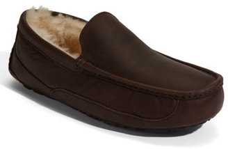 UGG 'Ascot' Leather Slipper (Men)