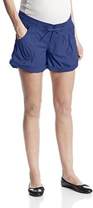 Ripe Maternity Women's Maternity Cargo Roll Up Shorts