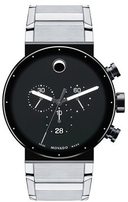 Men's Movado 'Sapphire Synergy' Chronograph Bracelet Watch, 42Mm $2,295 thestylecure.com