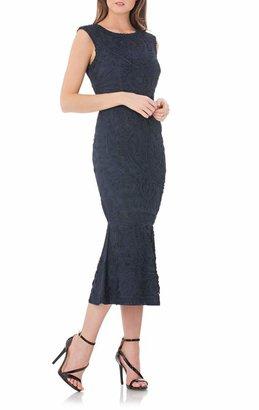 JS Collections Soutache Mesh Dress