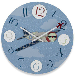 Bed Bath & Beyond Airplane Clock
