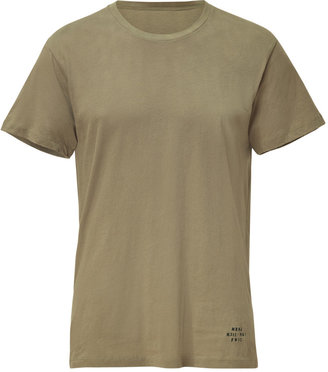 Marc by Marc Jacobs Deep Sage Logo Tee