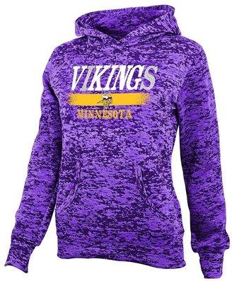 Minnesota vikings burnout hoodie - girls 7-16