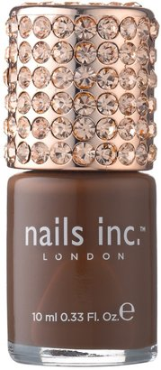 Nails Inc Crystal Caps Princes Gate - Rich Toffee