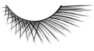 Japonesque Eyelashes, Extra Flair, Black 1 ea