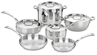 10-Pc Classic French Cookware Set