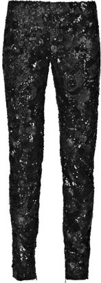 Stella McCartney Indian net sequined pants