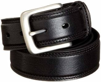"""Danbury Men's 1 3/8"""" Mens Double Stitched Padded Leather Work Belt"""