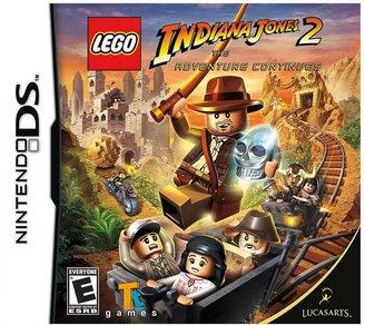 Nintendo ds TM lego ® indiana jones ® 2: the adventure continues