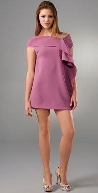 Thayer King Off Shoulder Mini Dress