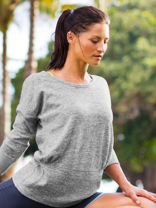 Athleta Batwing and Robin Top